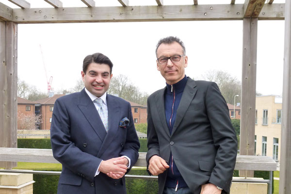 Dr. Atif Ansar (left) and Bent Flyvbjerg (right)